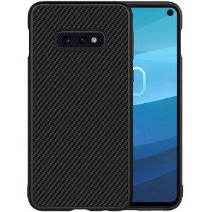 Image 2 - Fibre synthétique Nillkin pour Samsung S10e coque en fibre de carbone PP coque arrière en plastique pour Samsung Galaxy S10e coque luxe 5.8