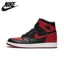 Мужские баскетбольные кроссовки Nike Air Jordan 1 Og Ретро Королевский Aj1 дышащие противоскользящие спортивные кроссовки 555088