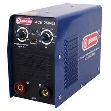 Аппарат сварочный инверторный Диолд АСИ-250-02 (Напряжение питания 9200 В, Сварочный ток 20-250 А, продолжительность включения 60% 250A, макс.диаметр электрода 5 мм)