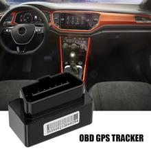 Car OBD GPS Tracker - Plug And Play OBD2 Real Time Locator With SOS Alarm Geo-fence