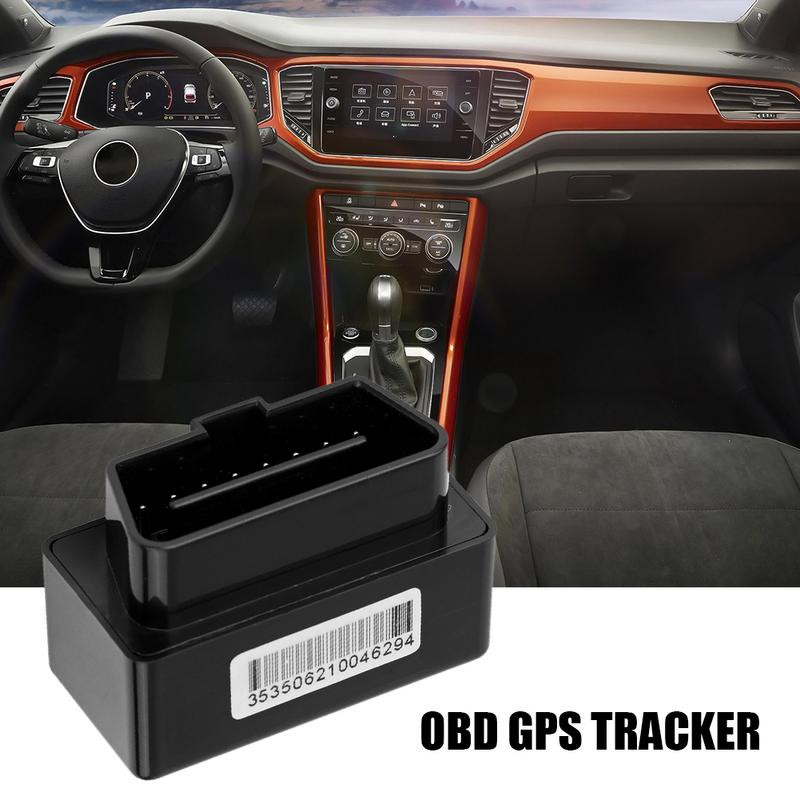 OBD Rastreador GPS do carro-Plug And Play OBD2 OBD Rastreador GPS Do Carro Rastreador Do Carro Localizador Rastreador Em Tempo Real Com SOS de Alarme da cerca Geo-