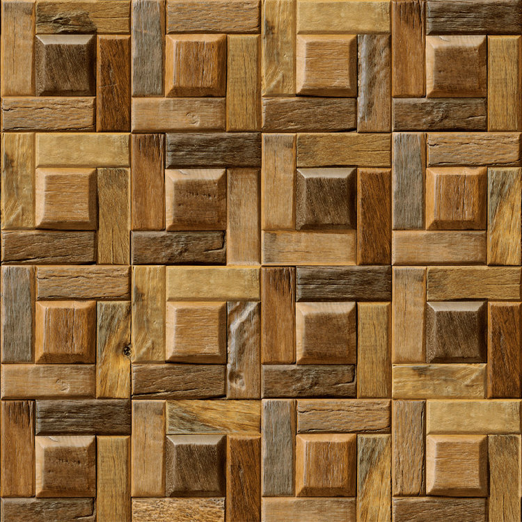 3D effet Vintage bois à la recherche papier peint Mural rouleaux PVC décor décors Art