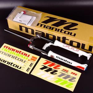 """Image 2 - 1420g Manitou R7 MRD אופניים גז מזלג אופני הרים 26 אינץ 27.5 """"ידני שלט רחוק מנעול 100mm נסיעות השעיה מזלג 2020"""
