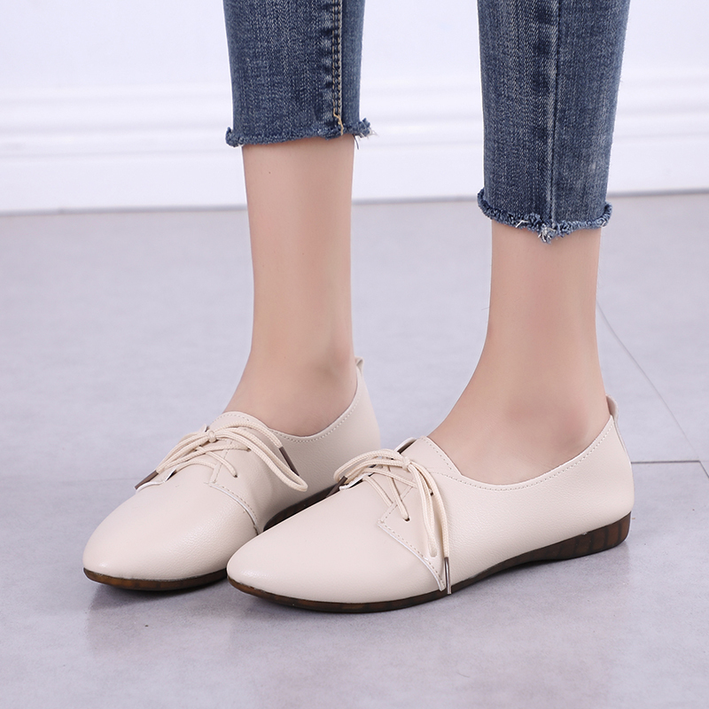 2019 New Arrival Women Flats Shoes Pointed Toe Shallow Flats Fashion Spring Autumn Women Shoes Loafers Casual Soft Zapatos Mujer 1