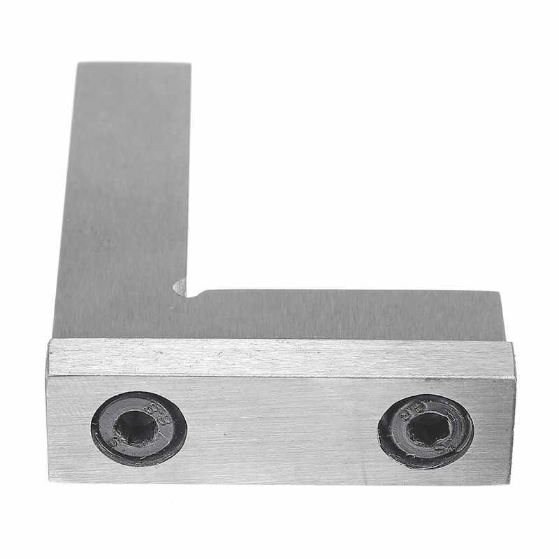 Машинистский квадратный 90 градусов, угловой инженерный набор с прецизионной заземленной сталью, закаленная угловая Линейка 50x40/75x50/100x70 мм