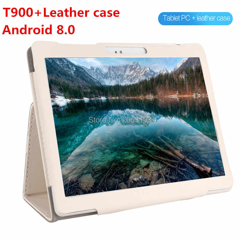 אנדרואיד 8.0 GPS Tablet 10 אינץ Tablet אוקטה Core 3G 4G FDD LTE שיחת טלפון 4 GB RAM 128 GB ROM Dual SIM 5.0MP Wifi Bluetooth + מתנה