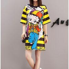 b96aa2a785a9d Popular Dresses Yellow Cartoon-Buy Cheap Dresses Yellow Cartoon lots ...