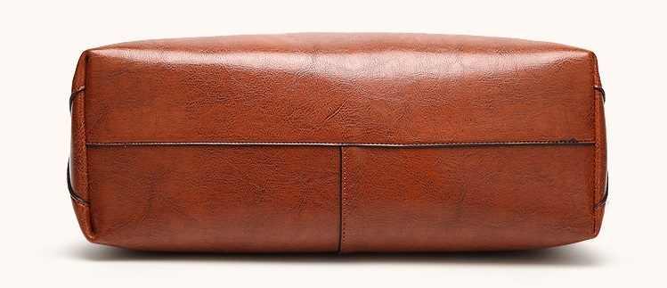 Lederen Tas Handtassen Merk Echt Lederen Handtassen Dames Tote Hand Zakken Vrouwelijke Designer Shopper Schoudertassen Voor C832