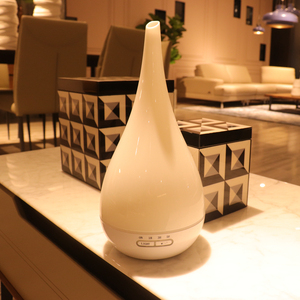 Image 2 - Luchtbevochtiger Aroma Diffuser Aromatherapie Ultrasone Mist Maker Essentiële Olie Diffuser Humificado 7 Kleur Voor Kantoor Thuis 400 ml