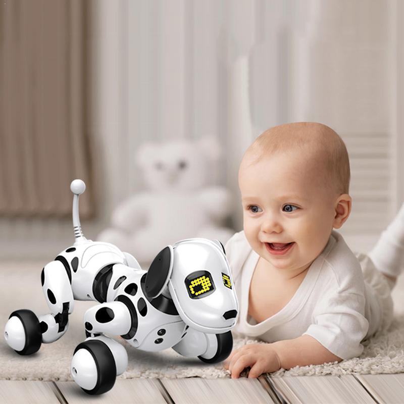 9007A 2.4g télécommande sans fil Intelligent Robot chien enfant jouet Intelligent parlant chien Robot électronique jouet pour animaux de compagnie nouvel an cadeau