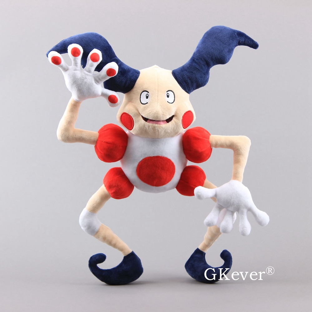 NEW Mr.Mime Plush Toys Mr.Mime Figure Stuffed Dolls Gift 18