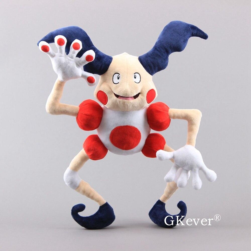 NEW Mr.Mime Plush Toys Mr.Mime Figure Stuffed Dolls Gift 18