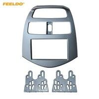 FEELDO Auto 2Din Umrüstung Stereo Radio Fascia Rahmen Für Chevrolet Funken Daewoo Matiz Holden Barina Dash Panel Rahmen Montieren-in Faszien aus Kraftfahrzeuge und Motorräder bei
