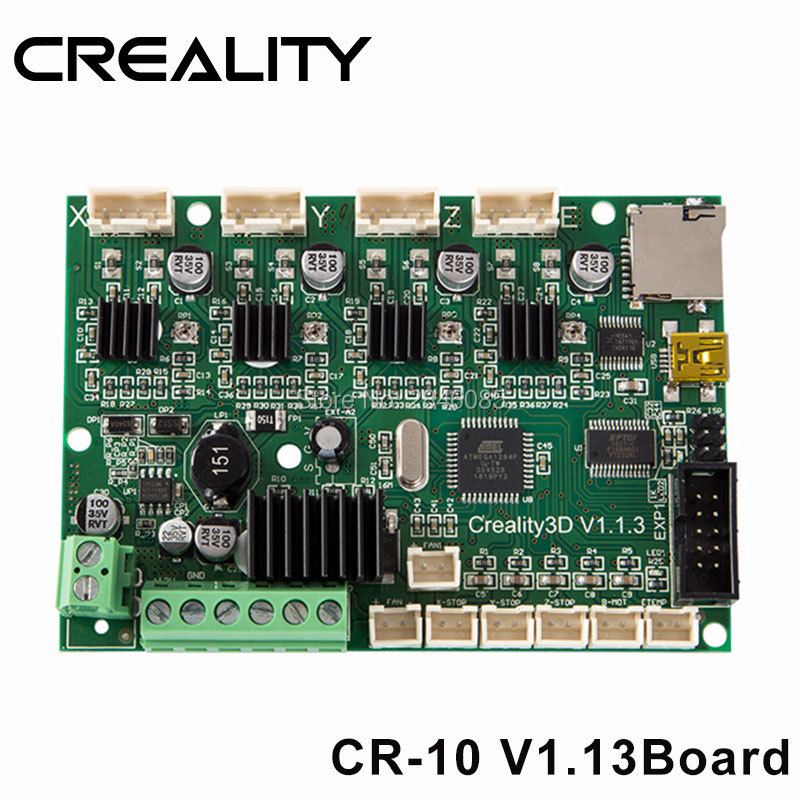 Good Quality Creality 3D CR 10 12V 3D Printer Mainboard Control Panel With USB Port Power