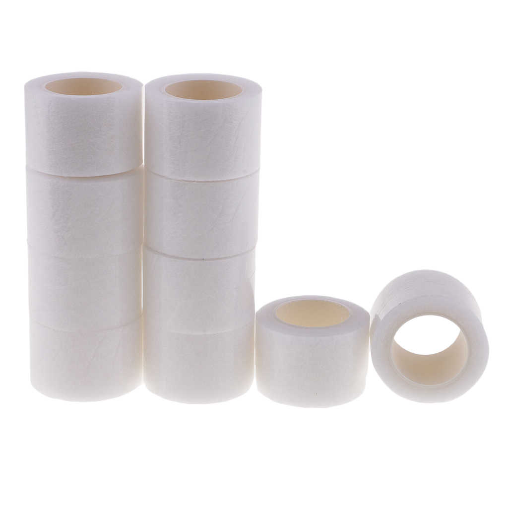 10 Rolls 30mm Wonder Web Iron On Hemming Tape Clothes Sewing Fusible Fabric