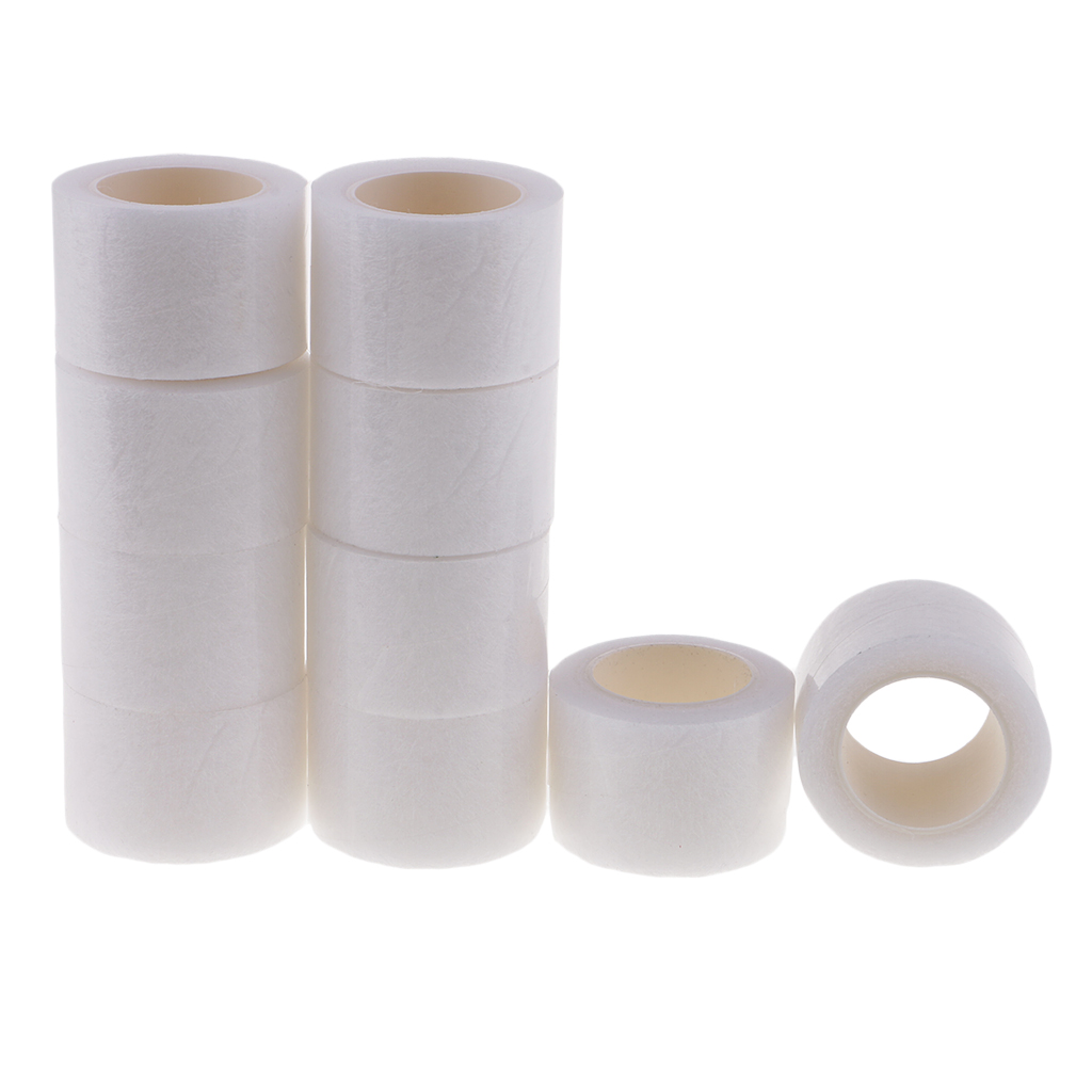 10 Rolls x 6 Meters 30mm Wide Iron on Hemming Web Tape Sewing Fabric Fusing Tape Adhesive No Need Sewing