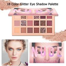 18 Color Eyeshadow Palette Waterproof Glitter Shimmer Matte Eye Shadow Pigment Powder Makeup Cosmetic kit