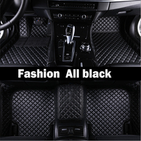 Special made car floor mats for Audi A6 C5 C6 C7 A4 B6 B7 B8 Allroad Avant foot case high quality anti slip car styling liners