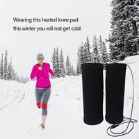 Intelligent Heating Knee Pads Warm Charging Electric Knee Pads Far Infrared Heating Thin Knee Pads With Battery Charger