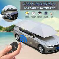 Full Automatic Car Roof Cover Umbrella Foldable Sunshade Dustproof Rainproof Protection Tent Universal Car Exterior Roof Cover