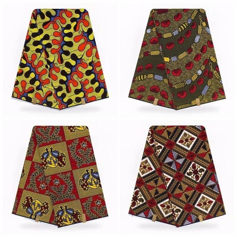 veritable wax guaranteed real dutch wax high quality hot wax 6yard african sewing fabric J70109