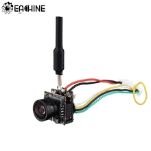 Yüksek çözünürlüklü Eachine TX06 700TVL FOV 130 derece 5.8Ghz 40CH akıllı ses Mini FPV kamera AIO verici için RC FPV Mini Drone