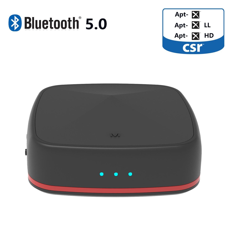 CSR8675 fibre optique Bluetooth adaptateur 5.0 2-en-1 Audio récepteur émetteur haute fidélité sans perte APTX