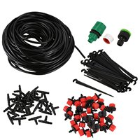 25M Diy Drip Irrigation System Automatic Watering Garden Hose mini Drip Garden Watering Kits With Adjustable Drippers