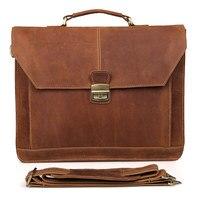 Новая натуральная кожа мужская сумка через плечо сумка мессенджер 730 40 Повседневная сумка ноутбук портфель мужской большой тоут портфель s
