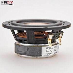 Image 5 - HIFIDIY CANLı hifi 3.6 3.5 inç 93mm Tam frekans hoparlör ünitesi 8 OHM 30 W Yüksek Alto bas hoparlör h3A A