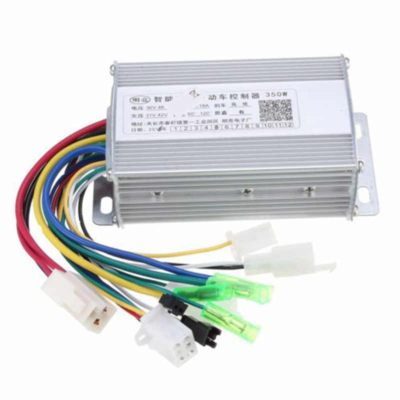 36V/48V 350W Hall E-Bike Unit Bicycle Scooter Motor Brushless Speed Controller