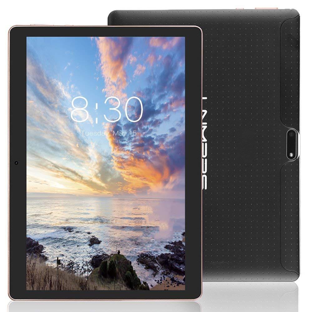 Новый 10,1 дюймов планшетный ПК Android 5,1 32 ГБ Octa Core Dual sims 5,0 МП 1280*800 ips Планшеты телефон 3G вызова игры видео музыка малыш DHL
