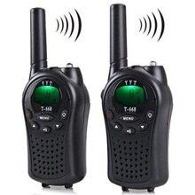 Two Way Radio Walkie Talkie 2 Stück T 668 Handheld Auto Multi Kanal 5KM