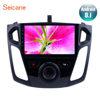 Seicane Android 8.1 2Din 9 Car Stereo For 2011 2012 2013 2014 2015 Ford Focus Head Unit GPS Player SWC Rearview Camera TPMS DVR