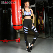 Floral Printing Patchwork Tracksuit Sport Women Fitness Workout Gym Two Piece Set Running Tights Sport Bra Suits Leggings Sets women reflective tracksuit patchwork yoga set woman sleeveless workout fitness gym clothing 2019 sport bra pant suits 2 piece