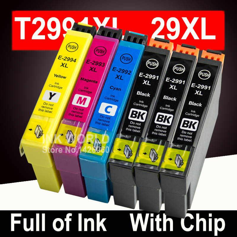 עבור Epson XP452 XP455 XP245 XP342 דיו מחסנית מחסניות ביטוי בית אירופה מדפסת T2991