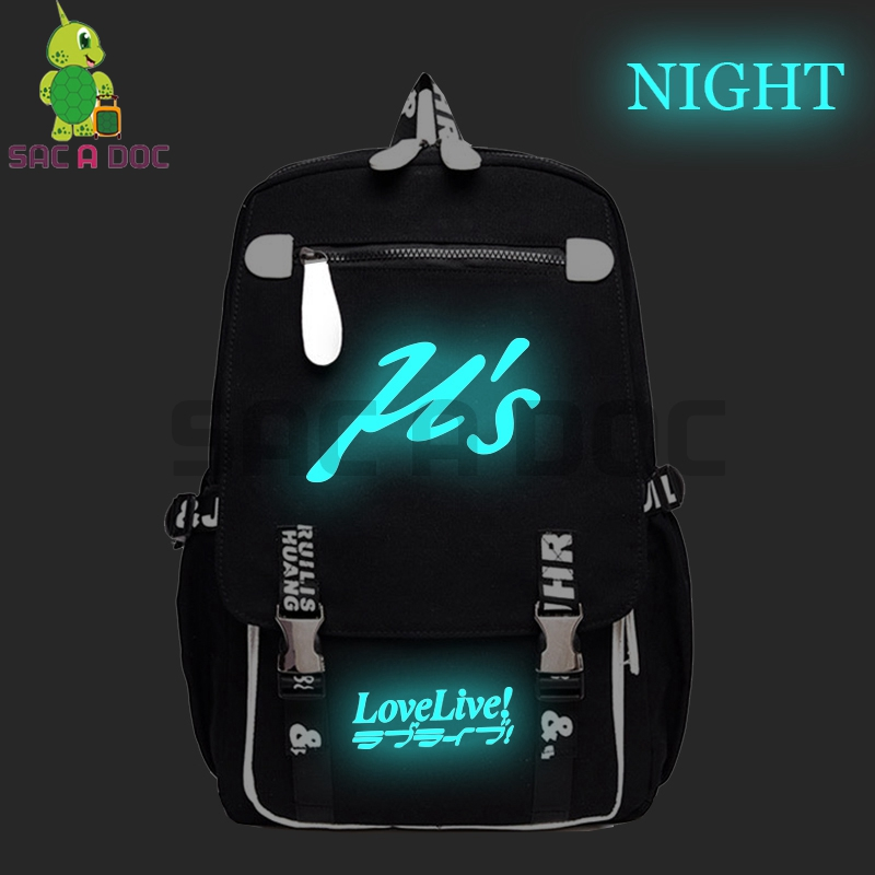 Lovelive US Backpack Luminous School Bags for Teenage Girls Boys Laptop Backpack Large Capacity Travel Shoulder BagsLovelive US Backpack Luminous School Bags for Teenage Girls Boys Laptop Backpack Large Capacity Travel Shoulder Bags