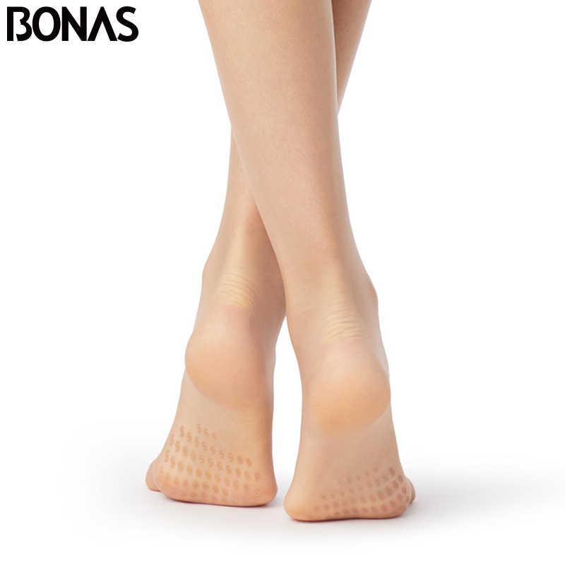 Bonas 15D非スリップタイツセクシーなt股タイトな女性通気性ストッキングアンチスリップパンティ耐裂性ストッキング女性collant