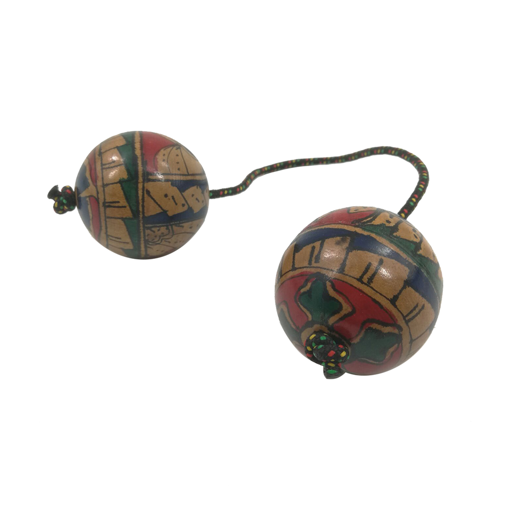 Double Gourd Kashaka - African Shaker Rattle