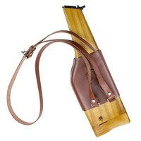 Ww2 German Army Mauser C96 Wooden Holster With Leather Strap Hunting Holster Cn.de