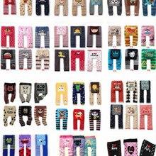 Одежда для малышей; зимние эластичные хлопковые штаны с героями мультфильмов для малышей; Busha; теплые детские колготки унисекс; Детские дизайнерские леггинсы