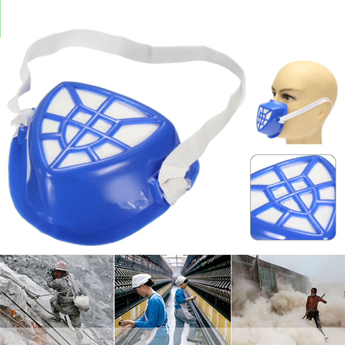 High Quality Anti-Dust Respirator Face Protector Mask Filter Outdoor For Welder Welding Paint Spraying Cartridge Gas Mask Filter