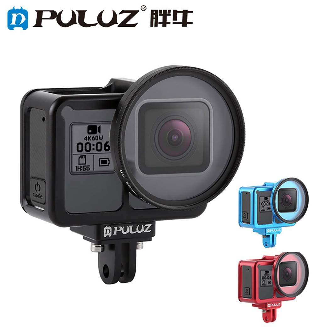 Cas de logement pour GoPro Hero 7 Noir métal Cas Plongée boîtier de protection Shell 40 m pour Go Pro Hero Hero7 Caméra
