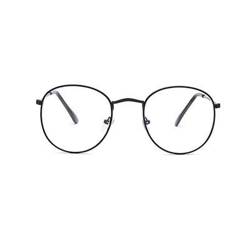 bc3ac6f6e1 Unisex de moda de Marco Metal oro clásico gafas mujer hombres clásica Estilo  vintage gafas ópticas