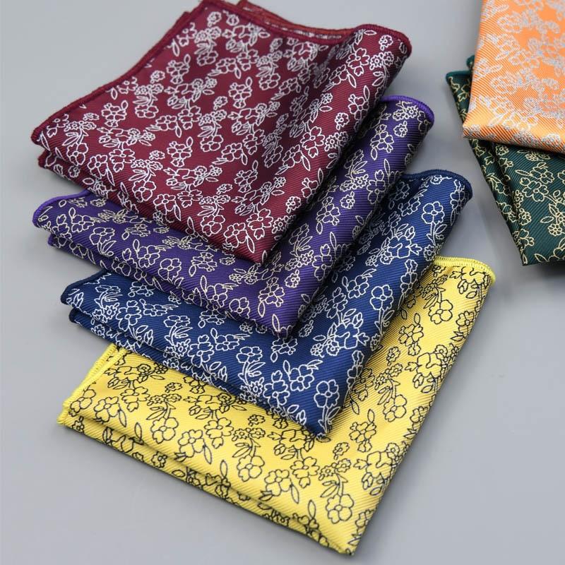 35-Color Men's  Pocket Handkerchief Handkerchief 25cm Paisley Feather Print  Pocket Scarf  Pocket Square Sumikko Gurashi Wedding