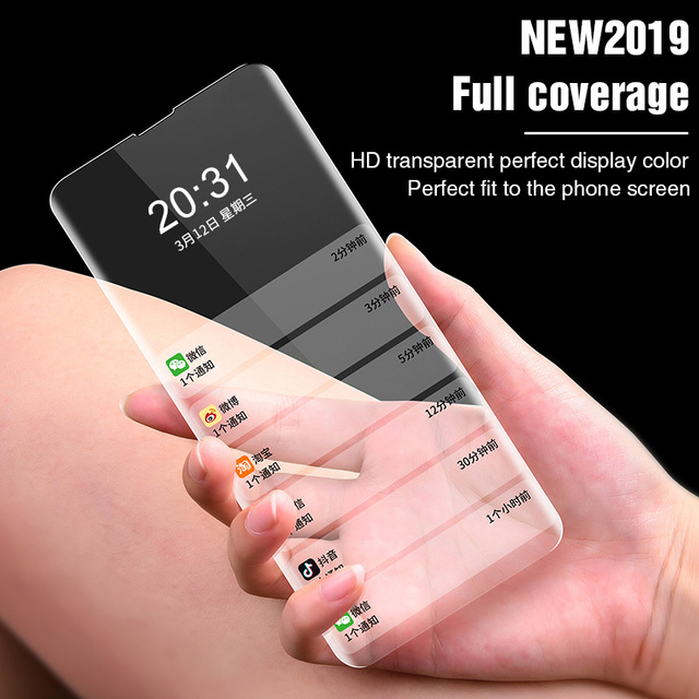 Full Curved Tempered Glass on For Samsung Galaxy S8 S9 S10 Plus Note 8 9 Screen Protector For Samsung S6 S7 Edge Protective Film