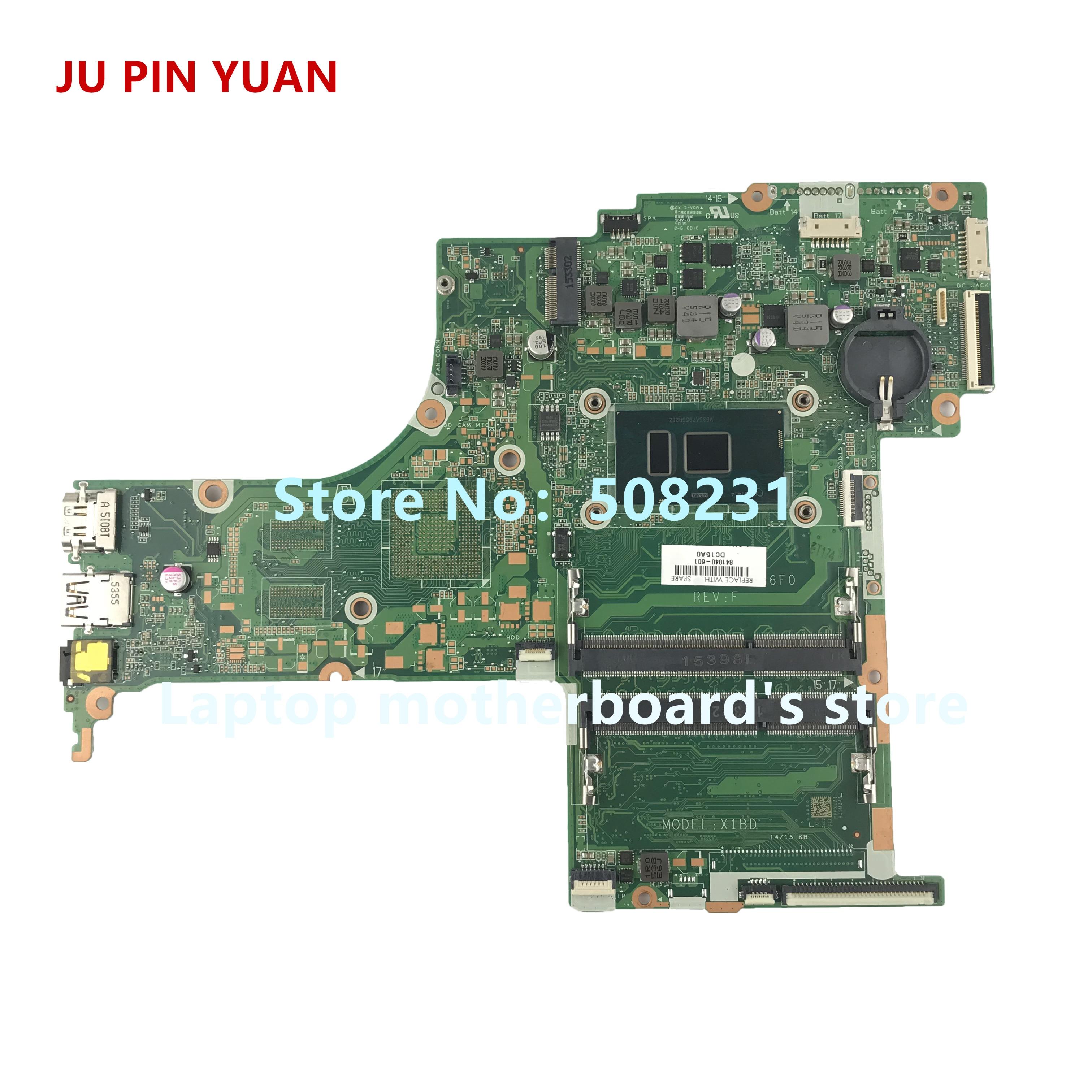 JU PIN YUAN 841040-601 841040-001 mainboard for HP Pavilion 17-G 17-S 17-S017CL Laptop motherboard DAX1BDMB6F0 X1BD i7-6500uJU PIN YUAN 841040-601 841040-001 mainboard for HP Pavilion 17-G 17-S 17-S017CL Laptop motherboard DAX1BDMB6F0 X1BD i7-6500u