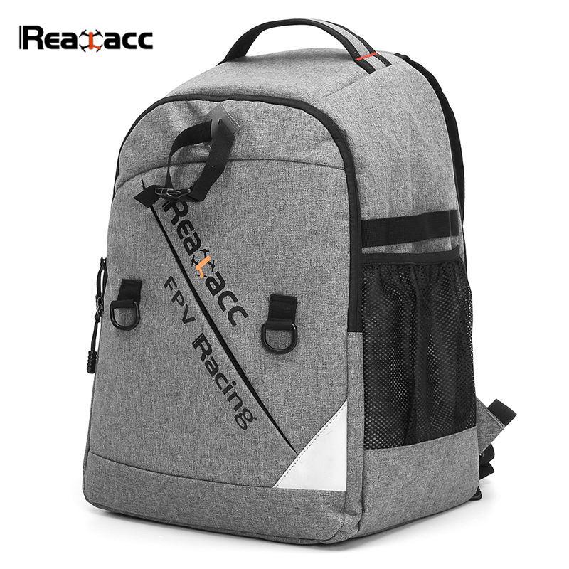 Realacc водостойкий передатчик луч порт сумка Рюкзак мягкий Чехол чемодан для моделей дронов с дистанционным управлением FPV гоночный мультиро...