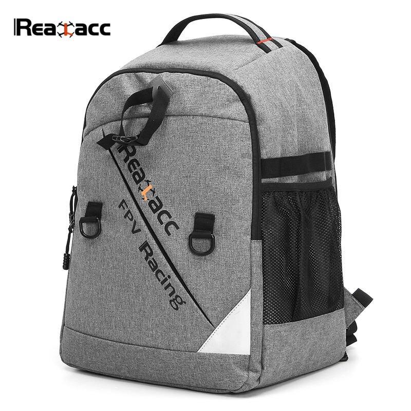 Sac de transport de faisceau transmetteur étanche Realacc sac à dos valise à coque souple pour modèles RC Drone FPV Racing Multirotor quadrirotor
