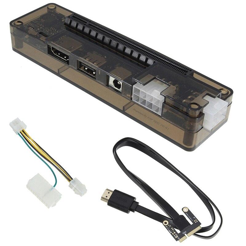 Nouveau Pcie Pci-E Pci ordinateur portable externe carte vidéo indépendante Dock carte Express Mini Version Pci-E pour V8.0 Exp Gdc